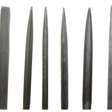 6 Piece Needle Files in 6 Shapes (Pack of: 1) - F-05660