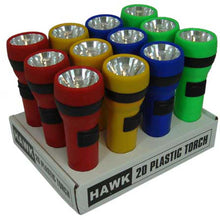 12 Piece Plastic Flashlights (Pack of: 1) - FL-0-08578
