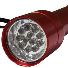 12 LED Aluminum Flashlight (Pack of: 1) - FL12-LED-YH