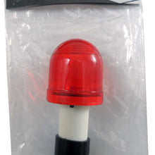 Mini Red Flasher Light, Suction Base (Pack of: 1) - SF-28842