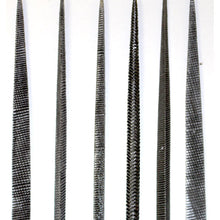 6 Piece Carbon Steel Needle Files (Pack of: 1) - F-08006