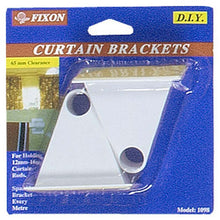 2 Pc. Curtain Brackets (Pack of: 2) - H-41098-Z02