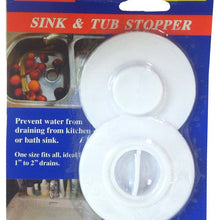 Sink & Tub Stopper (Pack of: 1) - H-41209