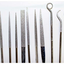 15 Piece Diamond Files (Pack of: 1) - KIT-FDFILE