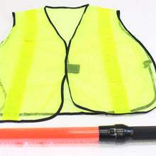 Baton & Safety Vest (Pack of: 1) - KIT-SW2-G