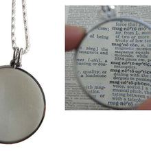 3.5x Silver Pendant Magnifier (Pack of: 1) - MG-76502
