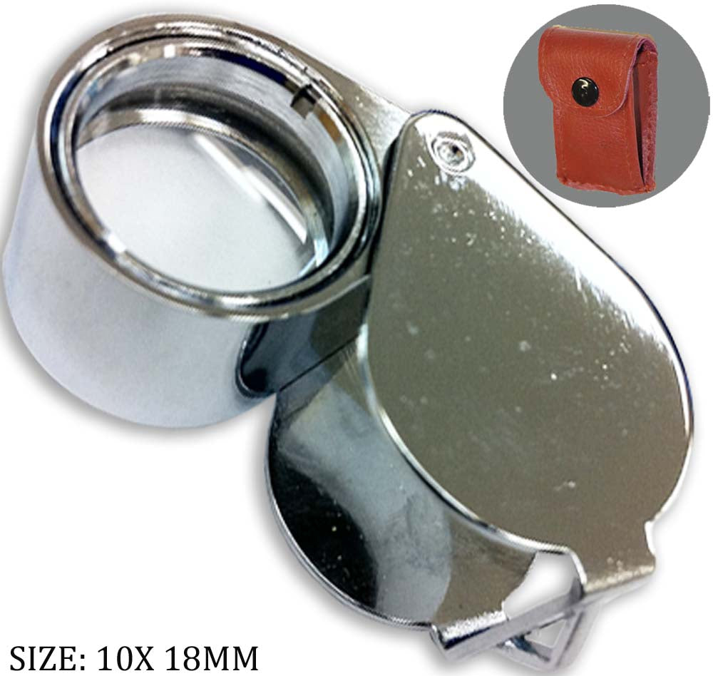 10x Jeweler's Loupe, 18 mm (Pack of: 1) - MG1510-918 - ToolUSA