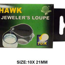 10x Jeweler's Chrome Triplet Loupe (Pack of: 1) - MG-02113 - ToolUSA
