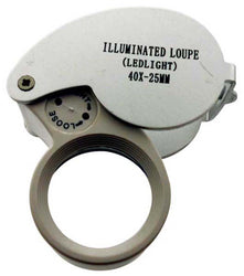 40x LED Illuminated Jeweler's Loupe (Pack of: 1) - MG-12230