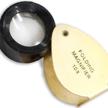 10x Jeweler's Gold Loupe (Pack of: 2) - MG-10750-Z02 - ToolUSA