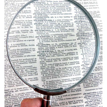2x Glass Lens Steel Magnifier, 3-Inch (Pack of: 1) - MG-08530
