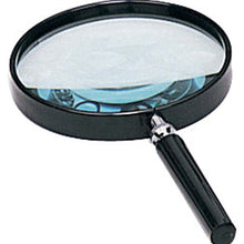 3x Black Handheld Magnifier, 4-Inch (Pack of: 1) - MG-08790