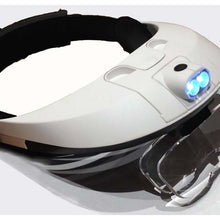 LED Head Magnifier, Interchangeable Lenses (Pack of: 1) - MG-09008