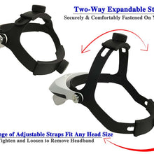 LED Head Magnifier, Interchangeable Lenses (Pack of: 1) - MG-15151