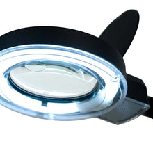 3x Black Tabletop Magnifier Lamp (Pack of: 1) - MG-99550