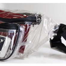 Traveler's Clear Money Belt Pouch - 3 Sections (Pack of: 1) - MONEYBELT-YB