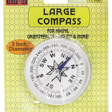 3-Inch Aluminum Pocket Compass (Pack of: 1) - PC-61000