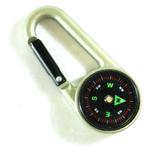 Traverse Mini Aluminum Compass with Snap Hook (Pack of: 1) - PC-92025-Z02