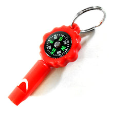 2.5-Inch Long Whistle with Compass (Pack of: 2) - PC-93201-Z02