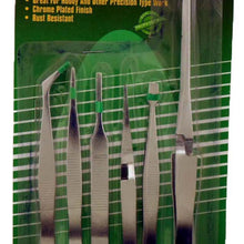 6 Pc Tweezer Set              (Pack of: 1) - S8-17951