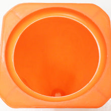 12-Inch Neon Orange Safety Cone (Pack of: 1) - SF-01212 - ToolUSA