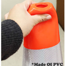 18-Inch PVC Safety Cones Orange (Pack of: 1) - SF-01218