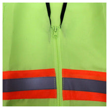 Neon Lime Safety Vest, Size Large (Pack of: 1) - SF-63718
