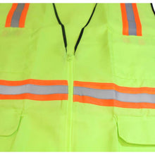 Neon Lime Safety Vest, Size XL (Pack of: 1) - SF-93718