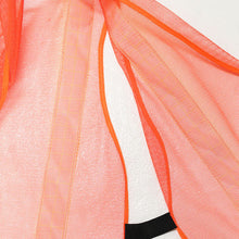 24-Inch Orange Mesh Safety Vest (Pack of: 1) - SF-22220