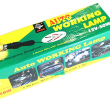 12 Volt Auto Repair Light with Clips (Pack of: 1) - TA-07175 - ToolUSA