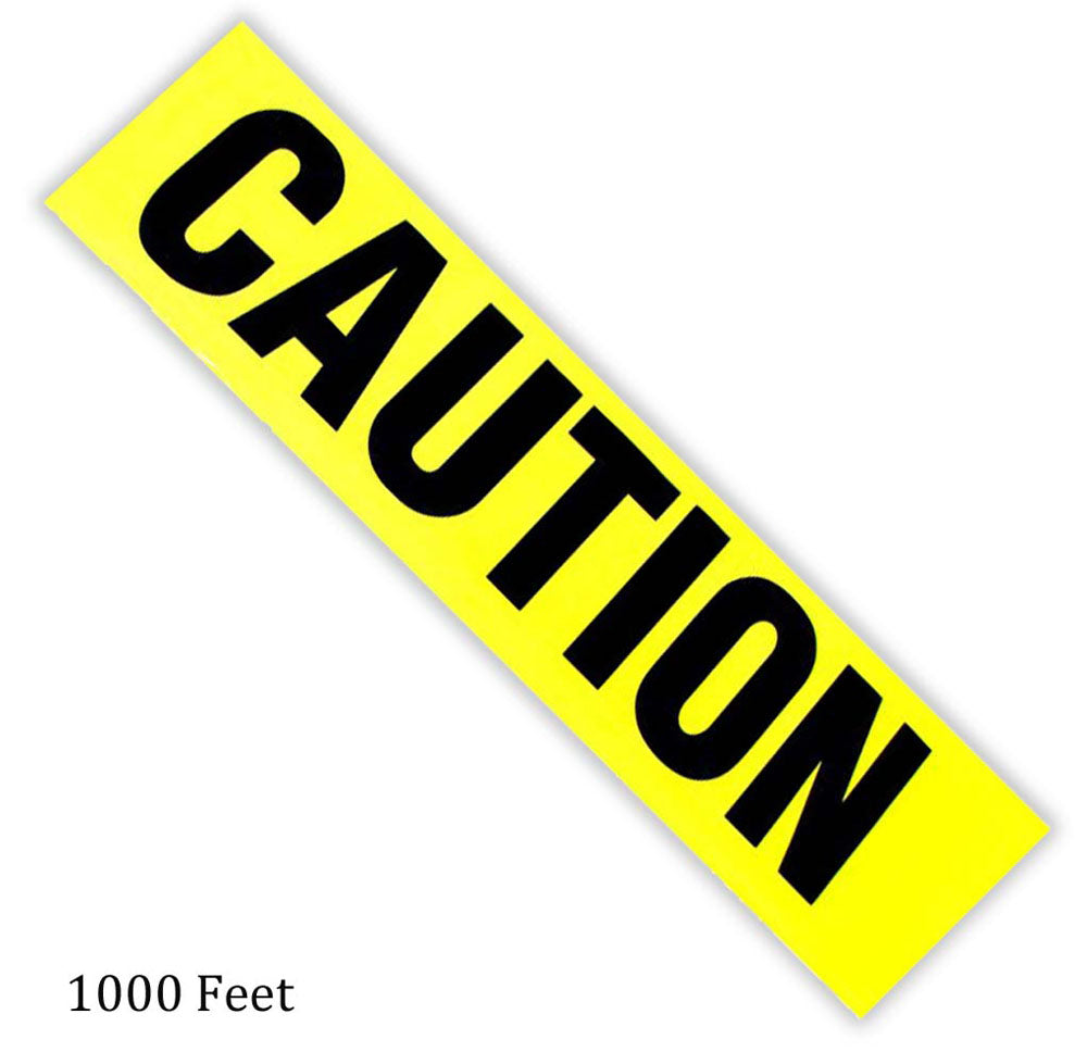 1000-Feet Caution Tape (Pack of: 1) - TAP-99915 - ToolUSA