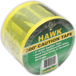 300-Feet Yellow Caution Tape (Pack of: 1) - TAP-99300