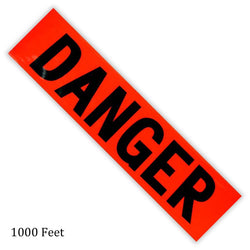 100-Feet Danger Safety Tape (Pack of: 1) - TAP-80806 - ToolUSA
