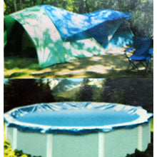 Blue Tarp, 20 x 20 Feet (Pack of: 1) - TB-02020