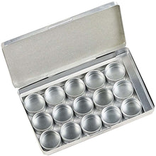 12 Piece Aluminum Jar Display (Pack of: 1) - TJ-91645 - ToolUSA