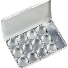 12 Piece Gem Jars (Pack of: 1) - TJ-81653 - ToolUSA