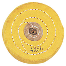 "Yellow Buffing Cloth (4"")     (Pack of: 1) - TJ01-30240"