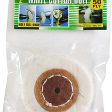White Cutton Buff, 2-Inch (Pack of: 2) - TJ01-31220-Z02