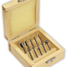 10 Pc. Engraving Set (Pack of: 1) - TJ03-06410 - ToolUSA