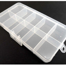 10 Compartment Plastic Storage Box (Pack of: 2) - TJ05-08710-Z02 - ToolUSA