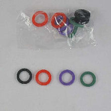 12 Piece Color Key Toppers (Pack of: 1) - LOCK-91011