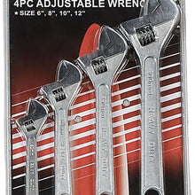 4 Piece Adjustable Wrench (Pack of: 1) - TP-03000