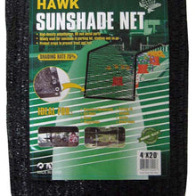 6' x 16' Black Sunshade Net (Pack of: 1) - TSB-70616