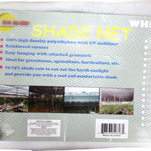 20' x 20' White Sunshade Net (Pack of: 1) - TSW-42021