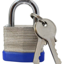 Steel Laminated Padlock, 30 mm (Pack of: 1) - LOCK-07313