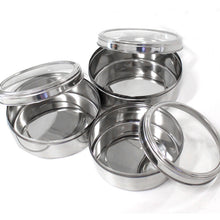 Hawk Importers 3 Piece Stainless Steel Caniser Set (Pack of: 1) - U-88015