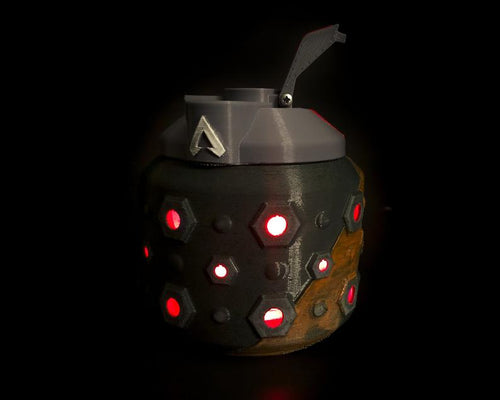 Apex Legends Frag Nade LED Desk Prop