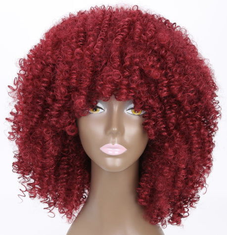 SiZA CURLY AFRO WIG - HenJa Hair