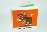 African farm book in English bilingual