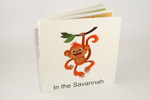 Áfrican Savannah English book